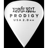 Ernie Ball EB9341 Plectren Prodigy Sharp 2mm weiß 6-er Pack