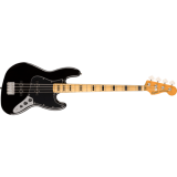 Squier Classic Vibe 70s Jazz Bass Maple Fingerboard Black